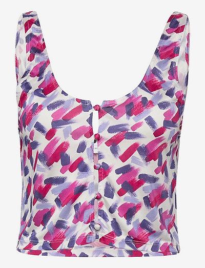 Beth Top - blouses zonder mouwen - cabaret comb