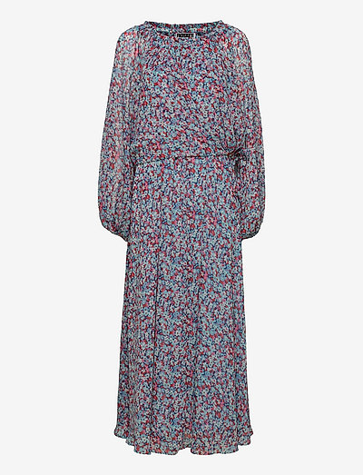 Carly Long Dress - zomerjurken - antigua sand comb