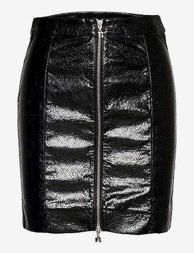 Kari Skirt - midi skirts - black
