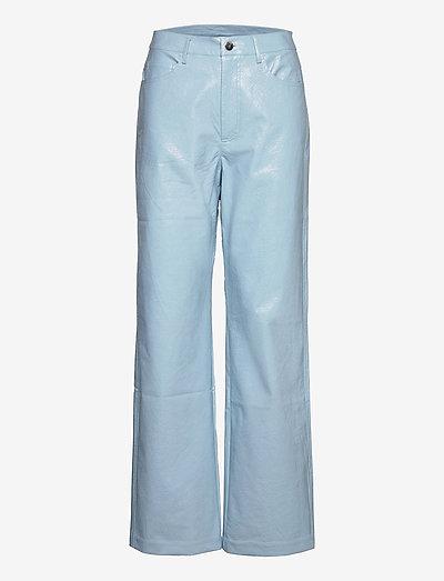 Rotie Pants - skinnbukser - corydalis blue