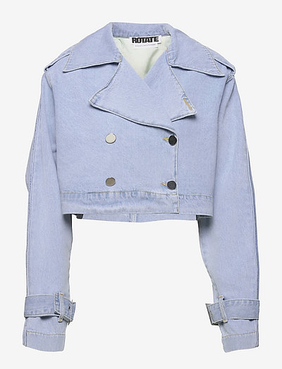 Loretta Jacket - jeansjacken - light blue denim