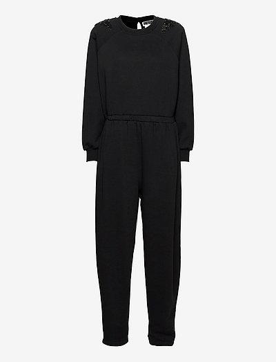 Claudia Jumpsuit - nieuwe mode - black