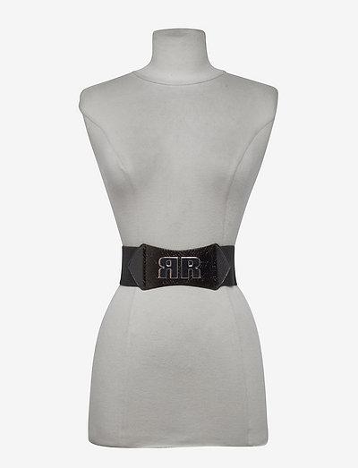 Lindsay Elastic Belt - nieuwe mode - black