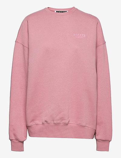 Iris Crewneck - sweatshirts & hoodies - lilas