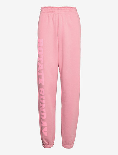 Mimi Sweatpants Large Print - vêtements - lilas