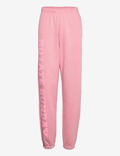 Mimi Sweatpants Large Print - tøj - lilas