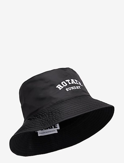 Bianca Bucket Hat - bøllehatte - black