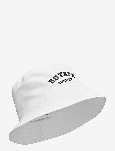Bianca Bucket Hat - bøllehatte - bright white