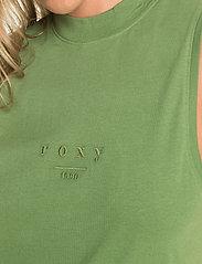 Roxy - FINALLY FEEL GOOD - tank tops - vineyard green - 6