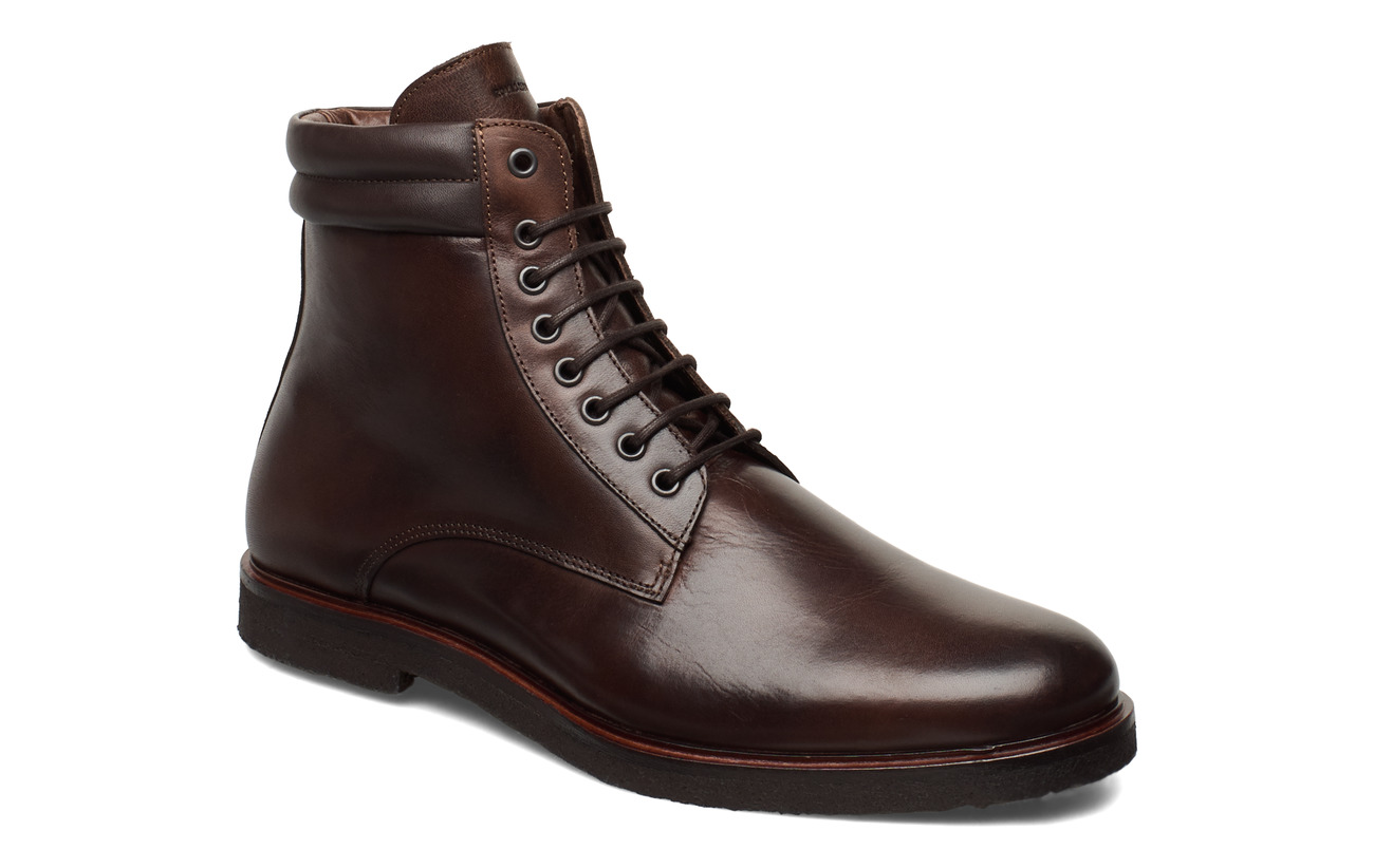 Royal RepubliQ Cast Crepe Combat Boot - CHESTNUT