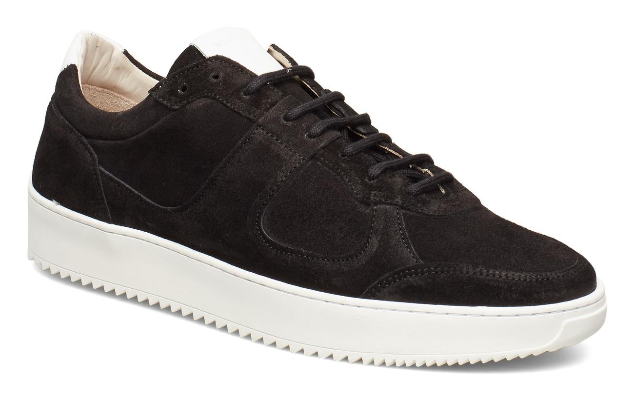 Royal RepubliQ Bolt Oxford Shoe Suede - BLACK