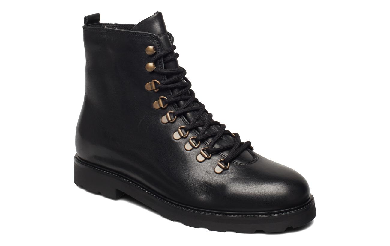 Royal RepubliQ TediQ Hiker Oxford Combat Boot - BLACK