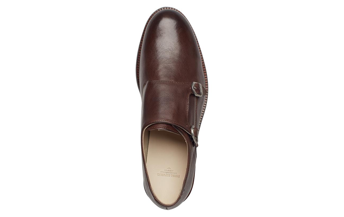 Équipement 100 Shoe Caoutchouc Alias Tunit Doublure Vache Monk Extérieure De 75 With Brown Semelle Republiq Peau Royal Intérieure Classic Latex 25 AHwRA4