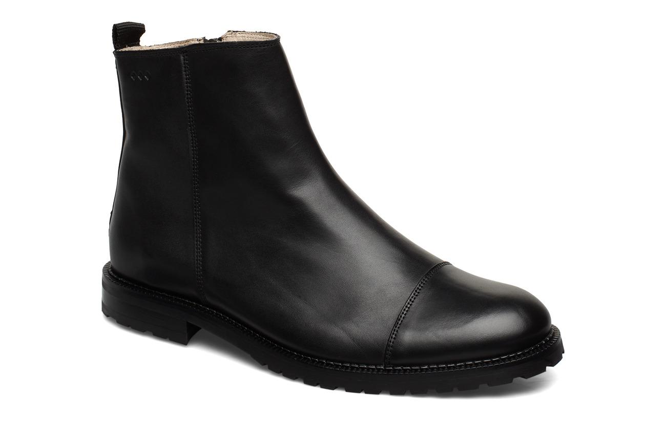 Royal RepubliQ Alias City Hiker Ankle Boot - BLACK