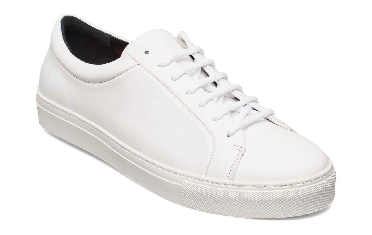 SPARTACUS Joggesko white black Lave sneakers Herre
