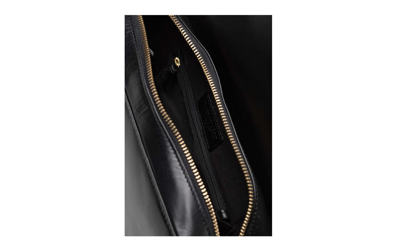 Royal Cuir Republiq 100 Raf Cognac Inner Curve Extérieure Linnig Handbag Polycotton Coquille rarRq