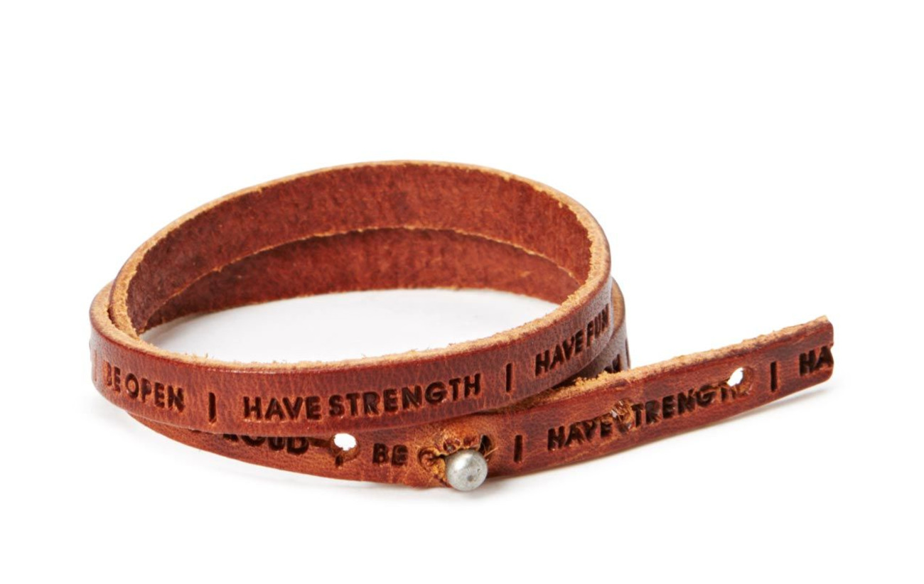 Royal RepubliQ Philosophy Bracelet - COGNAC
