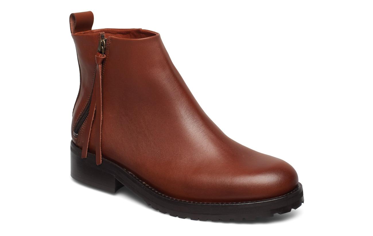 Royal RepubliQ Ave Zip Boot - TAN