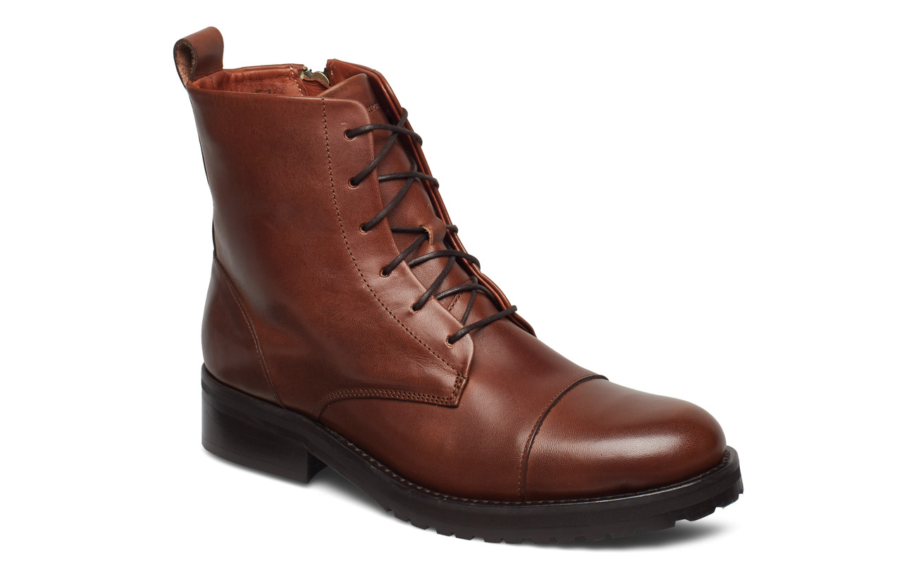 Royal RepubliQ Ave Lace Up Boot - TAN