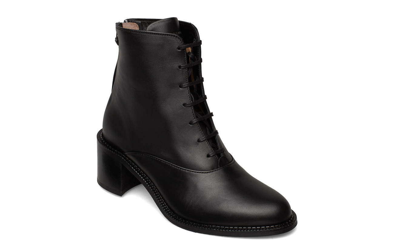 Royal RepubliQ Town Lace Up Boot - BLACK