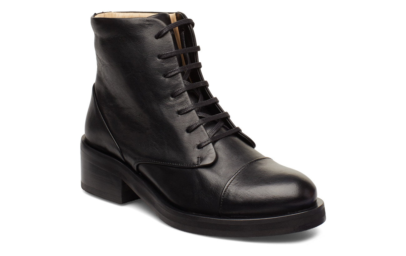 Royal RepubliQ District Lace Up Boot - BLACK