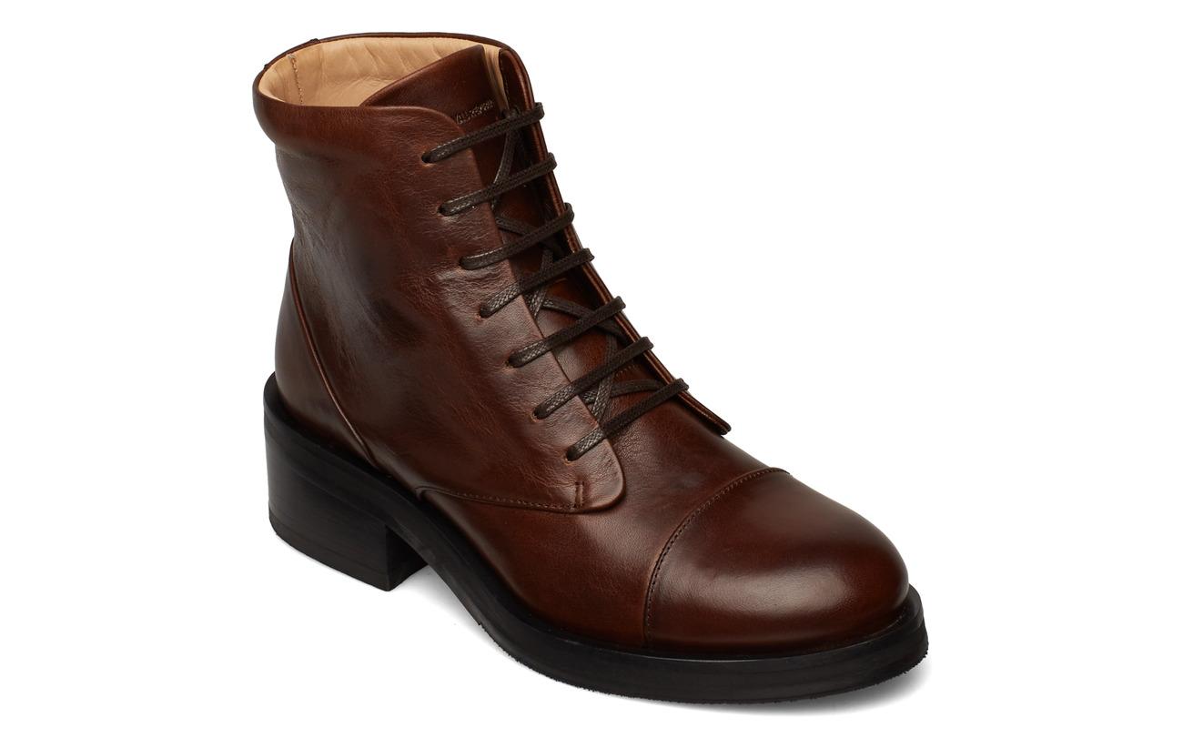 Royal RepubliQ District Lace Up Boot - CHESTNUT
