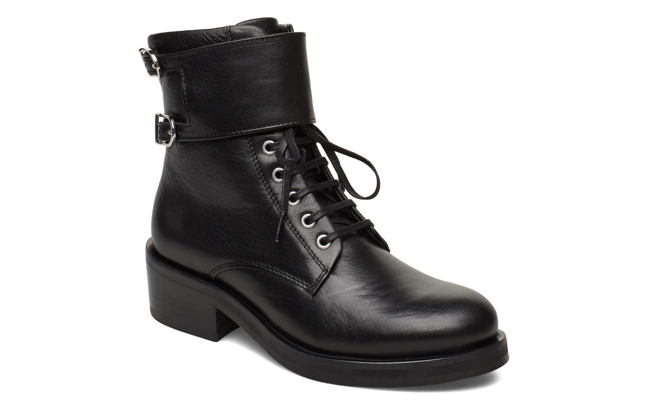 Royal RepubliQ District Monk Lace Up Boot - BLACK