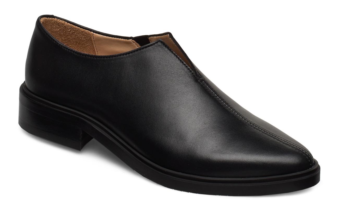 Royal RepubliQ Prime Minimal Oxford Shoe - BLACK