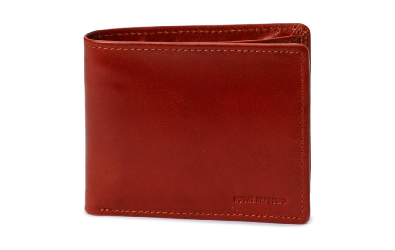 Royal RepubliQ City wallet - COGNAC