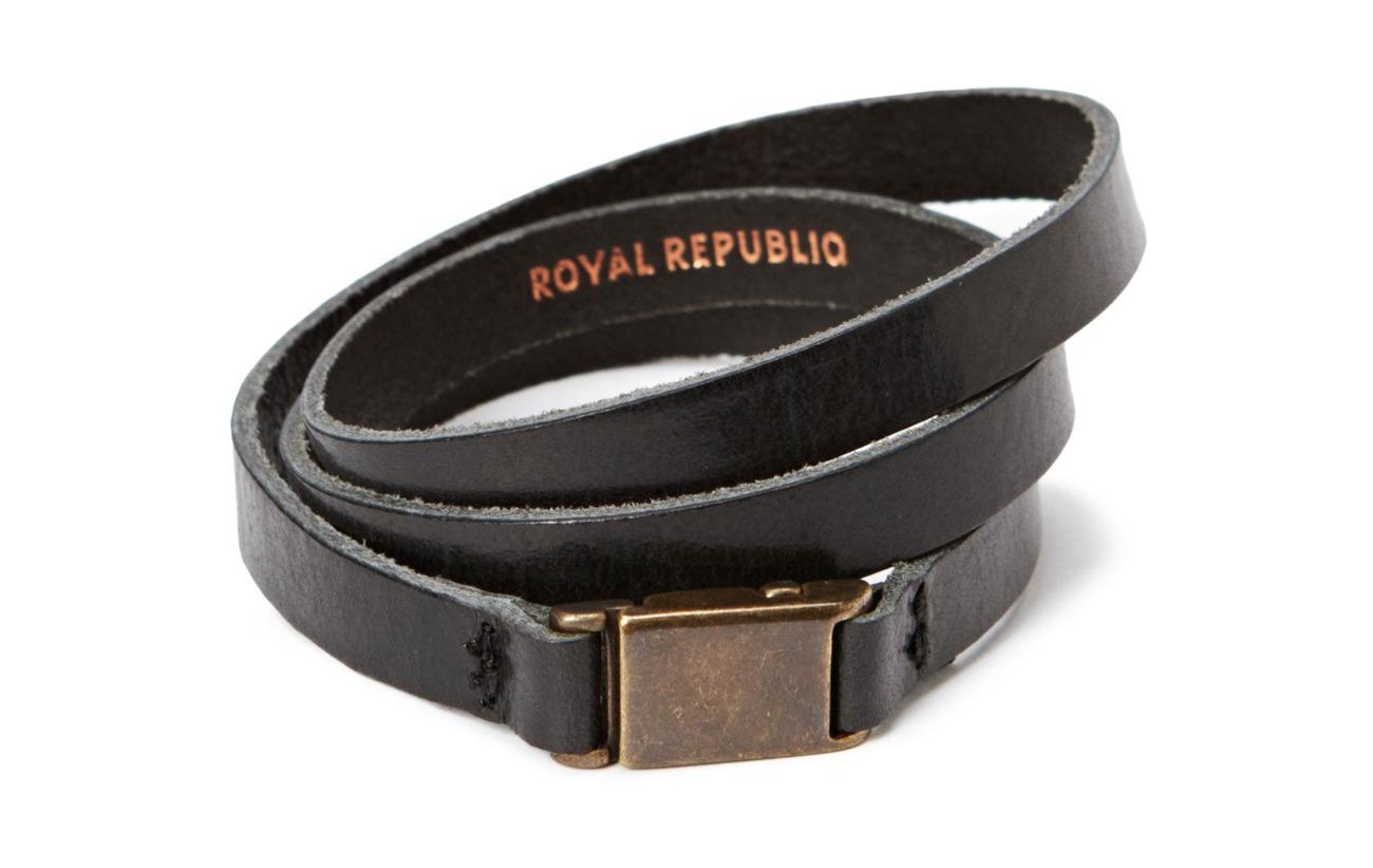 Royal RepubliQ Clip bracelet/cuff - BLACK