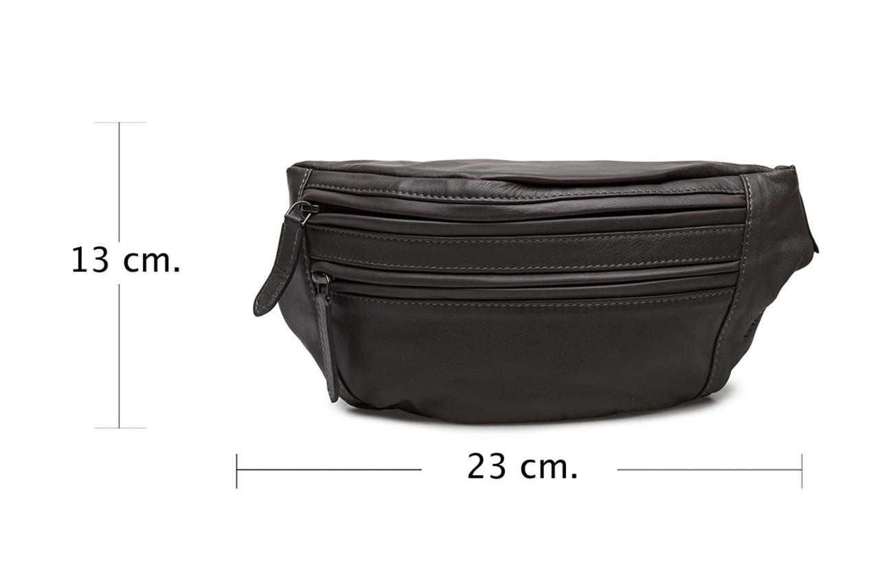Inner Bag 100 Royal Bum Polycotton Coquille Republiq Extérieure Cuir Fundamental Anthracite Linnig 4xqzwp
