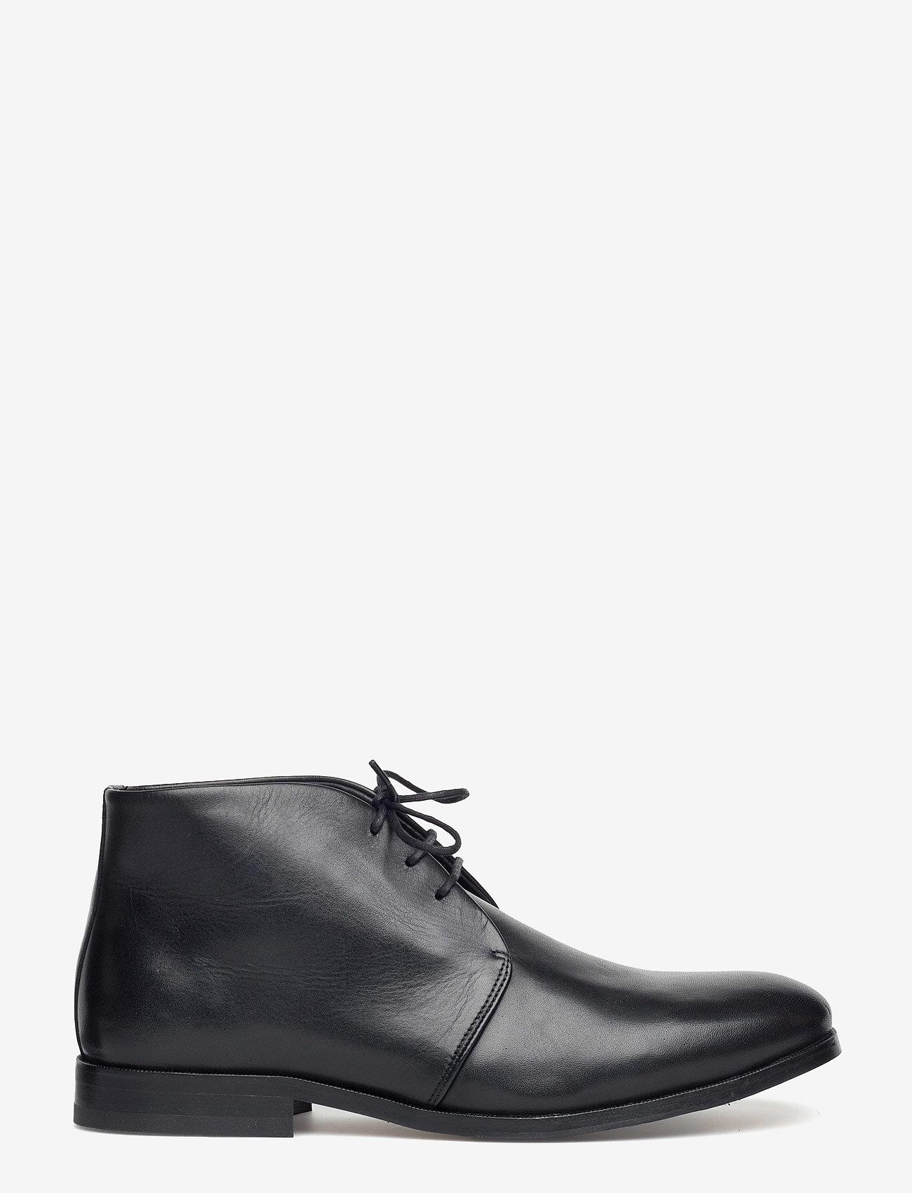 Royal RepubliQ - CAST CLASSIC DERBY MIDCUT - desert boots - black - 1