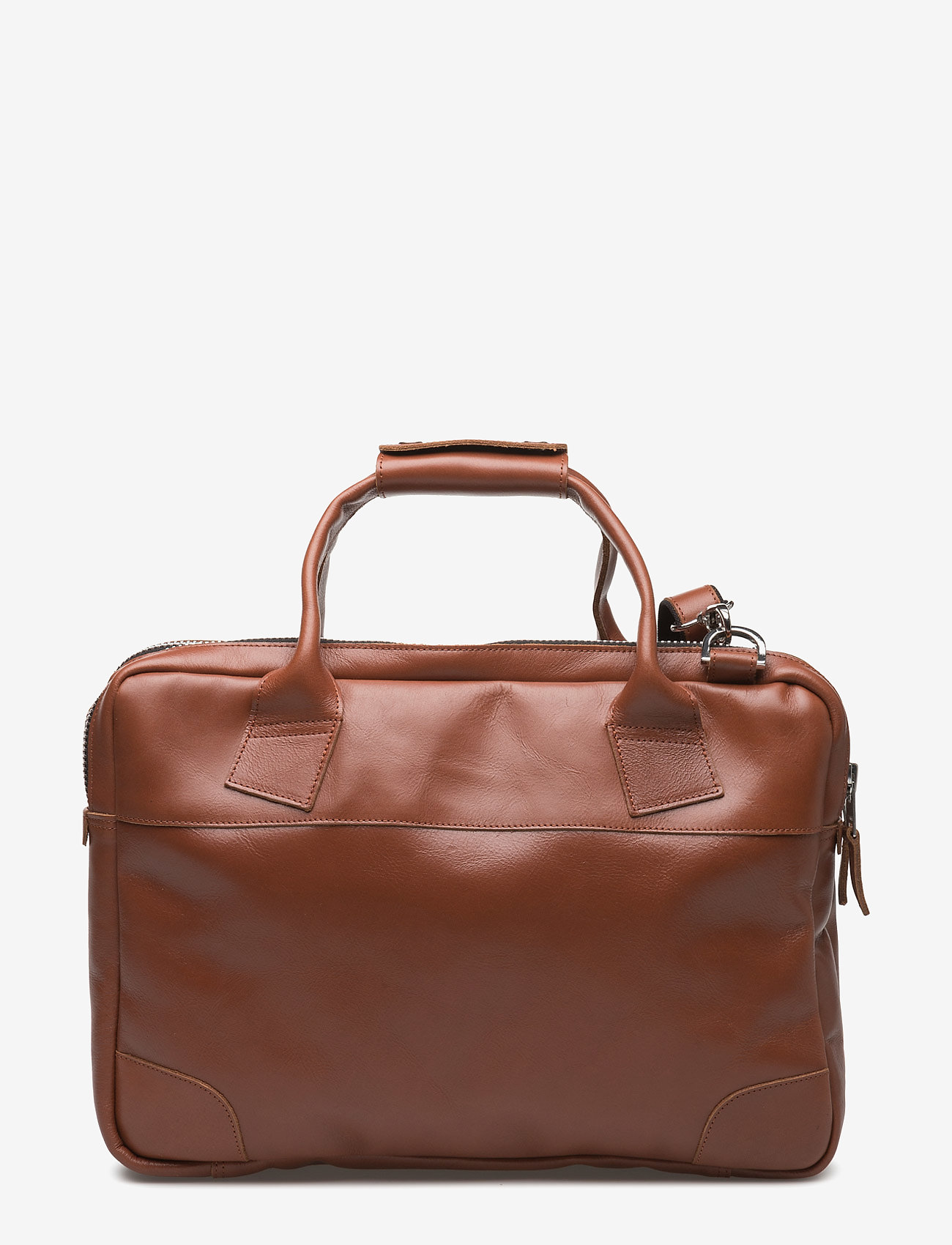 Royal RepubliQ - Nano big zip bag leather - laptoptassen - cognac - 1