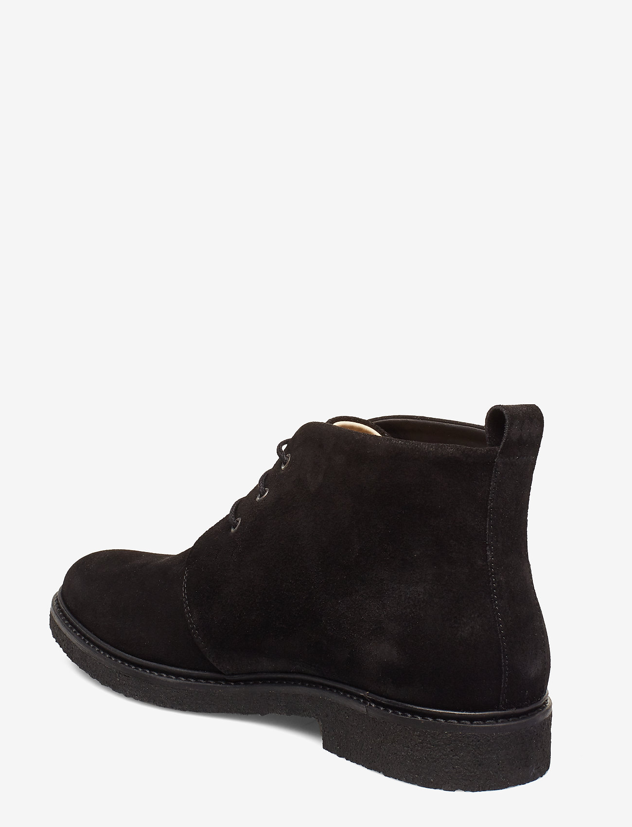 Cast Crepe Chukka Suede (Black) - Royal RepubliQ