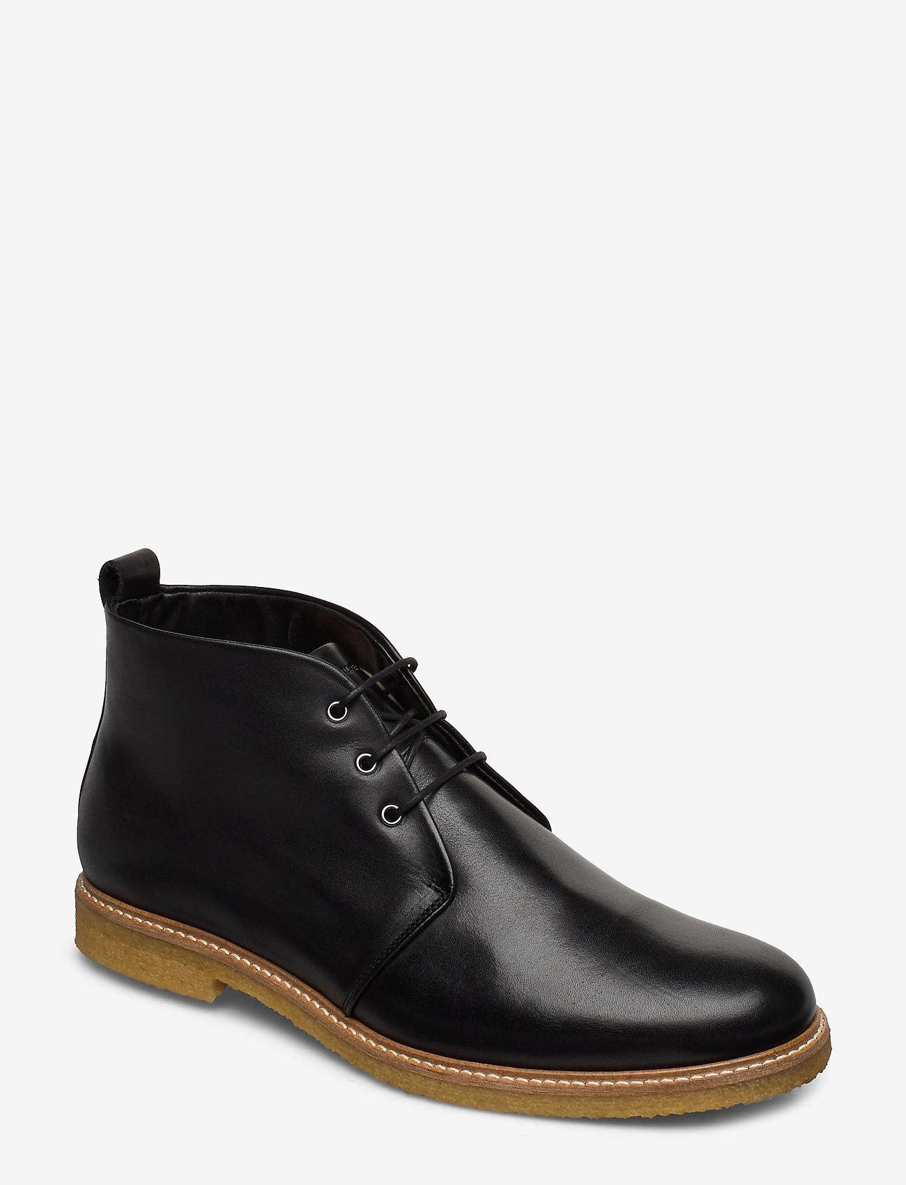 Royal RepubliQ - Cast Crepe Chukka - veter schoenen - black - 0