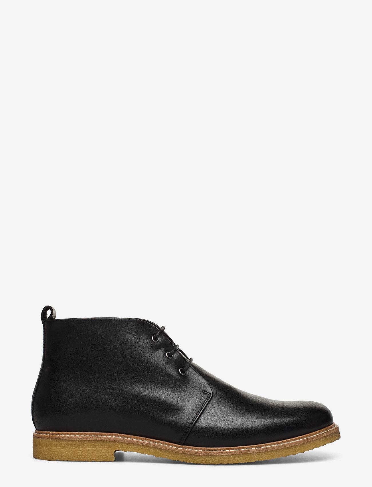Royal RepubliQ - Cast Crepe Chukka - veter schoenen - black - 1