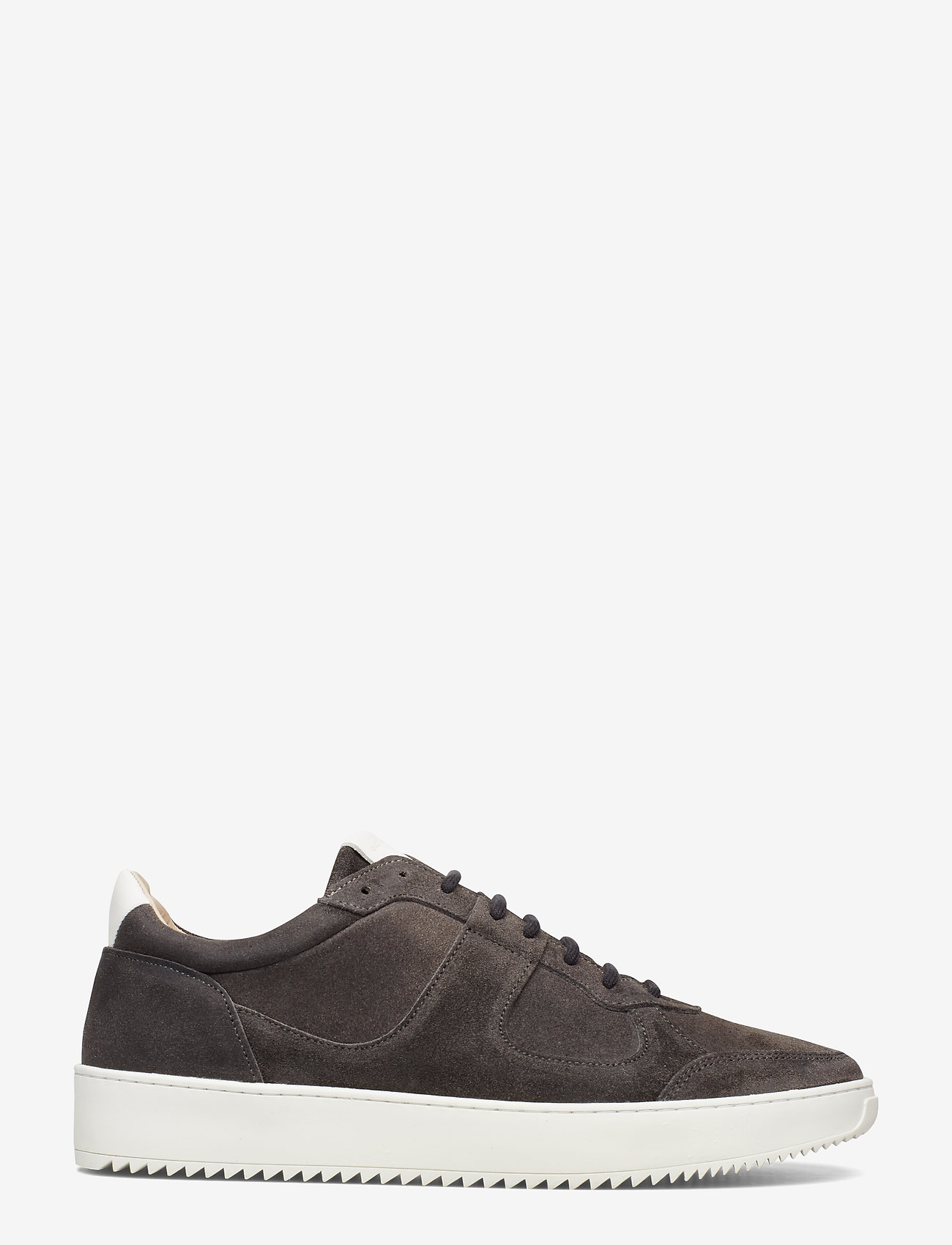 Royal RepubliQ - Bolt Oxford Shoe Suede - matalavartiset tennarit - anthracite