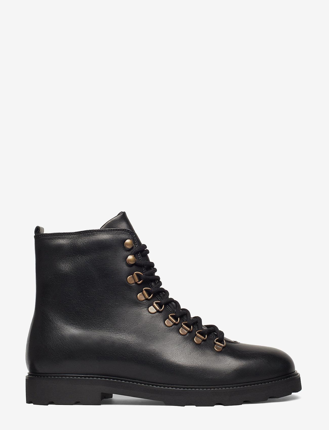 Royal RepubliQ - TediQ Hiker Oxford Combat Boot - nauhalliset - black