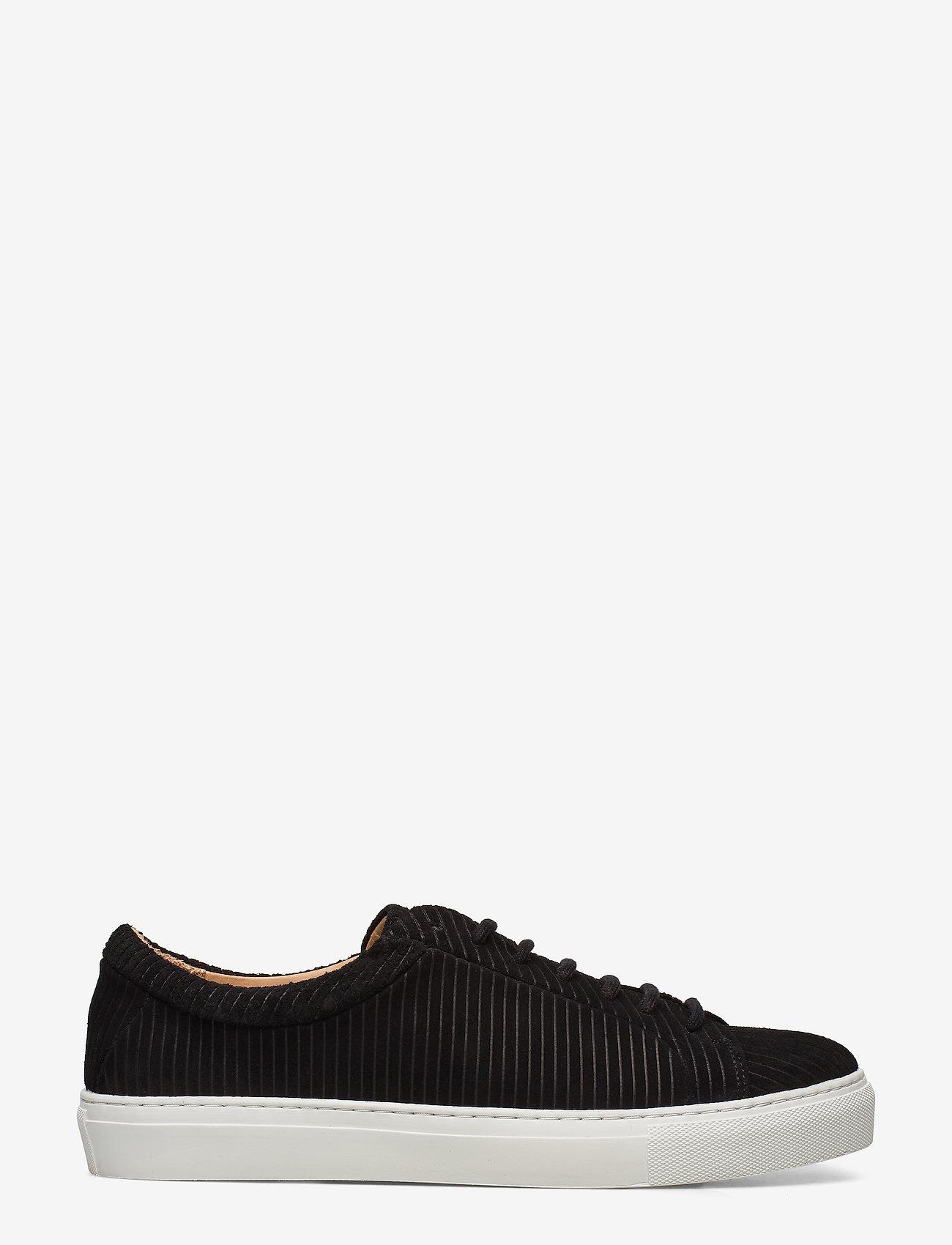 Royal RepubliQ - Spartacus Suede Corduroy Derby Shoe 201 - przed kostkę - black - 1