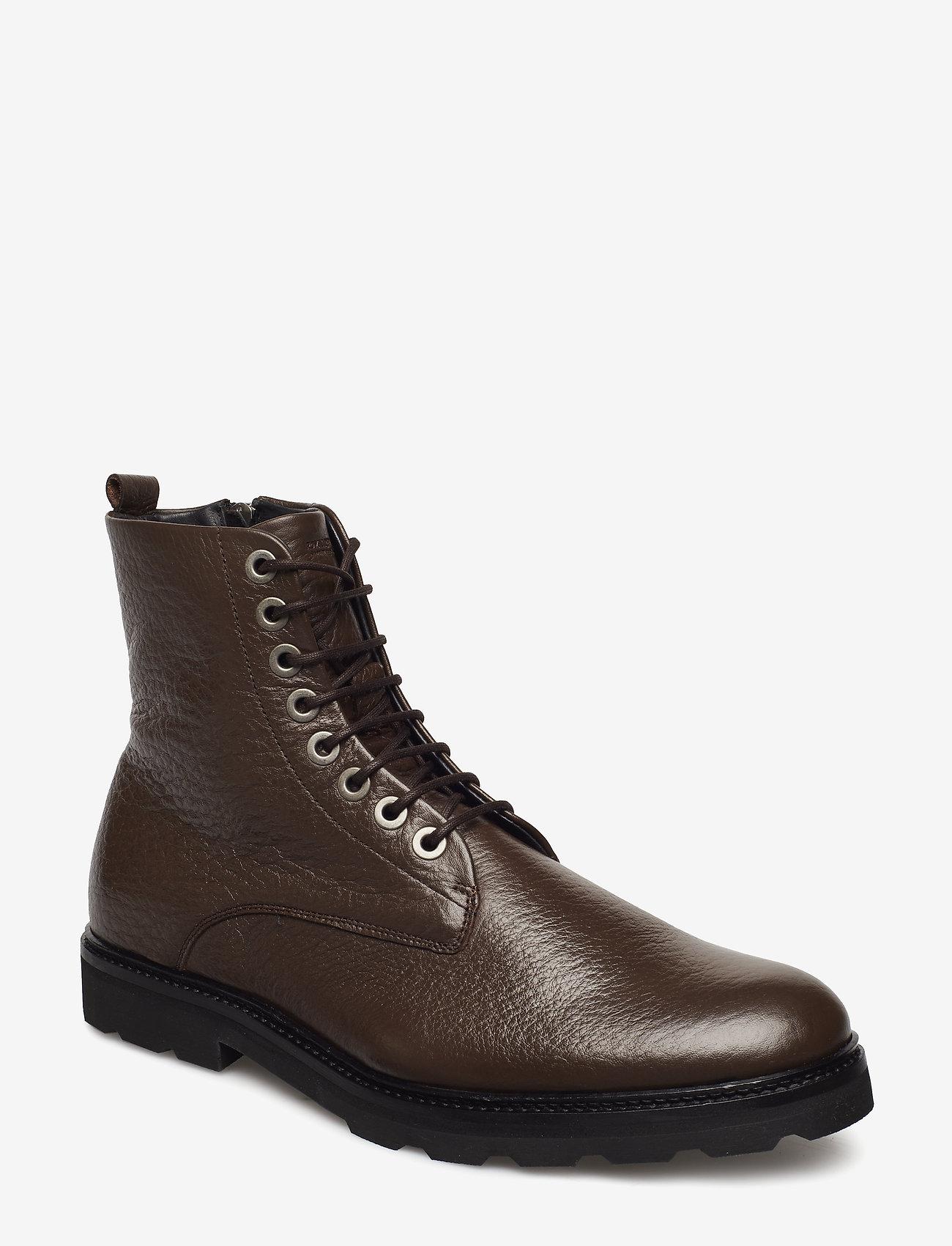 Royal RepubliQ - Alias Hiker Legioner Rhino - laced boots - brown