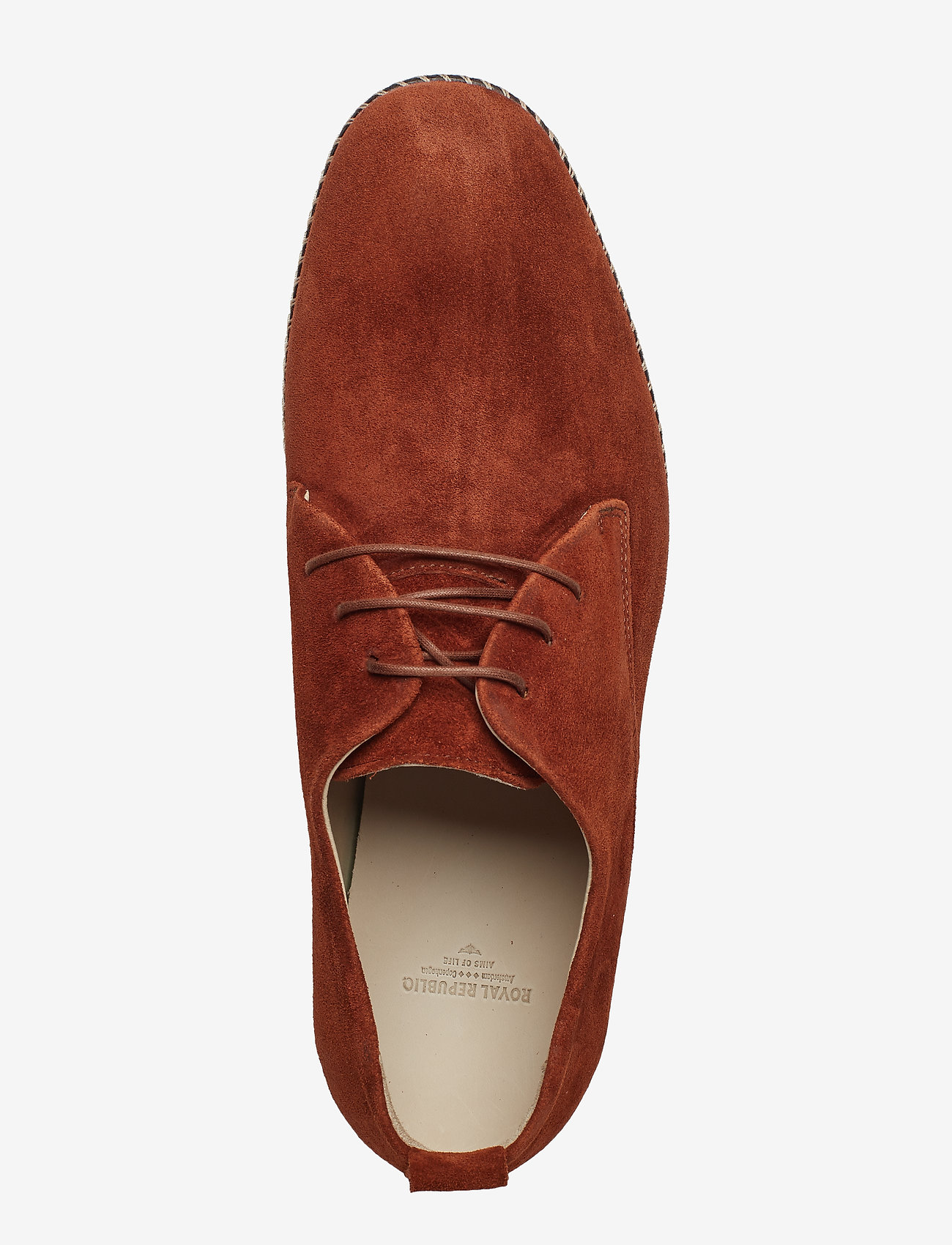 Royal RepubliQ Evo Derby Shoe Suede - Business TAN - Schuhe Billige
