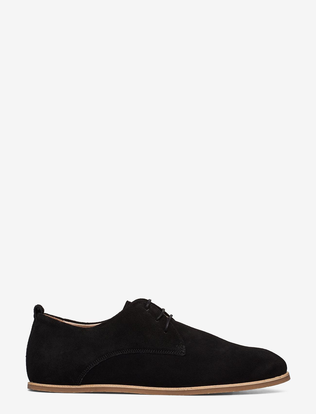 Royal RepubliQ Evo Suede Derby Shoe - Business BLACK - Schuhe Billige