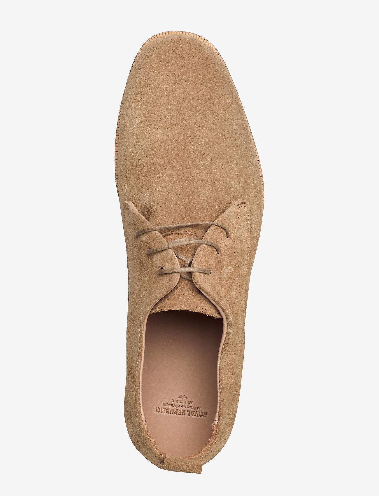 Royal RepubliQ Evo Suede Derby Shoe - Business CAMEL - Schuhe Billige