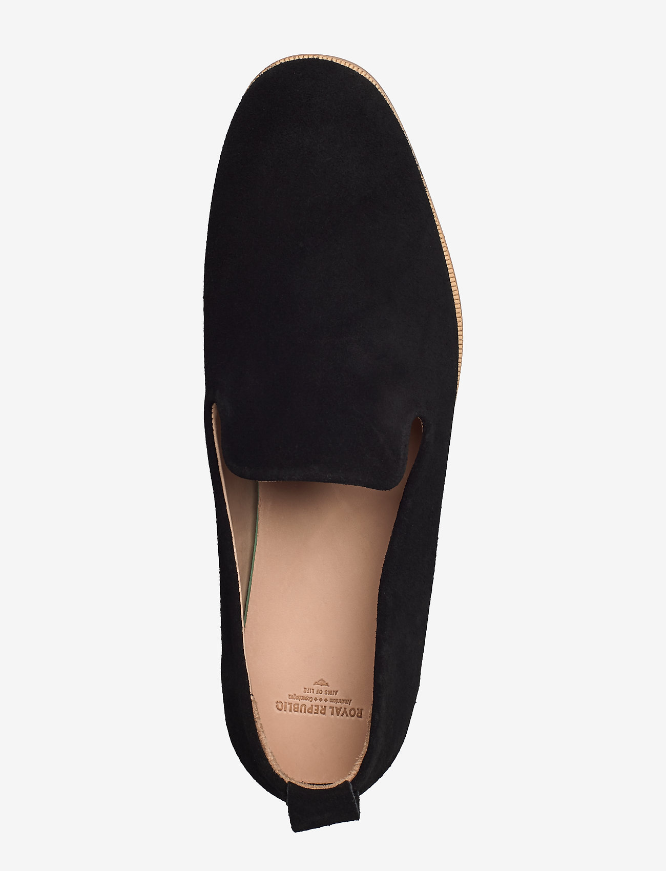 Royal RepubliQ Evo Suede Loafer - Loafers BLACK - Schuhe Billige