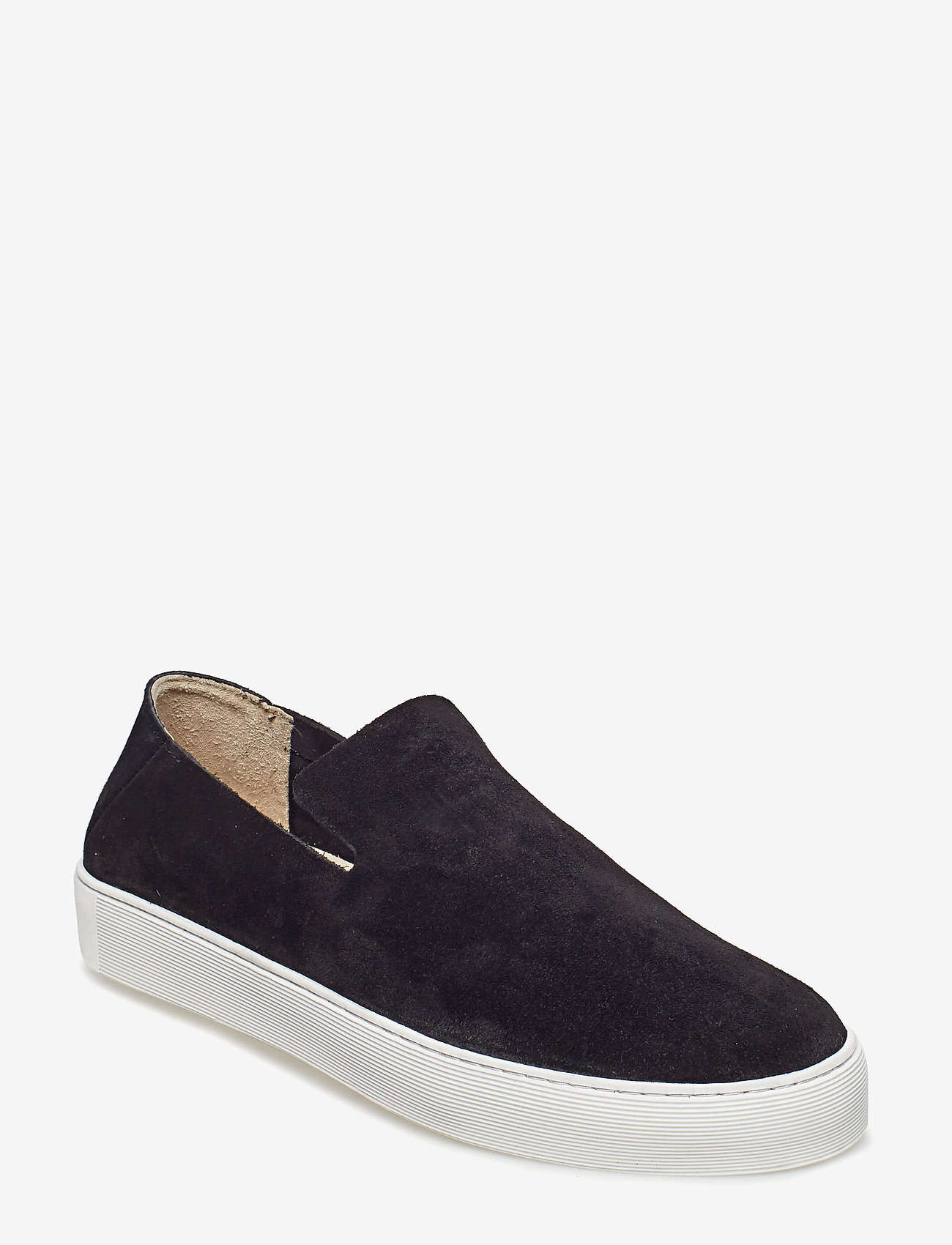 Royal RepubliQ - Doric Loafer Suede - baskets slip-ons - black - 0
