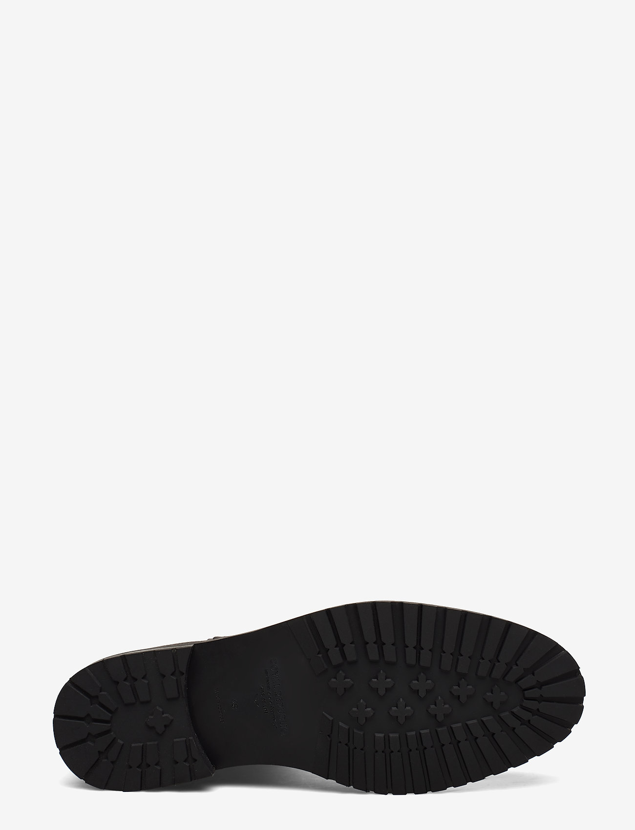 Alias City Hiker Derby Shoe (Black) - Royal RepubliQ