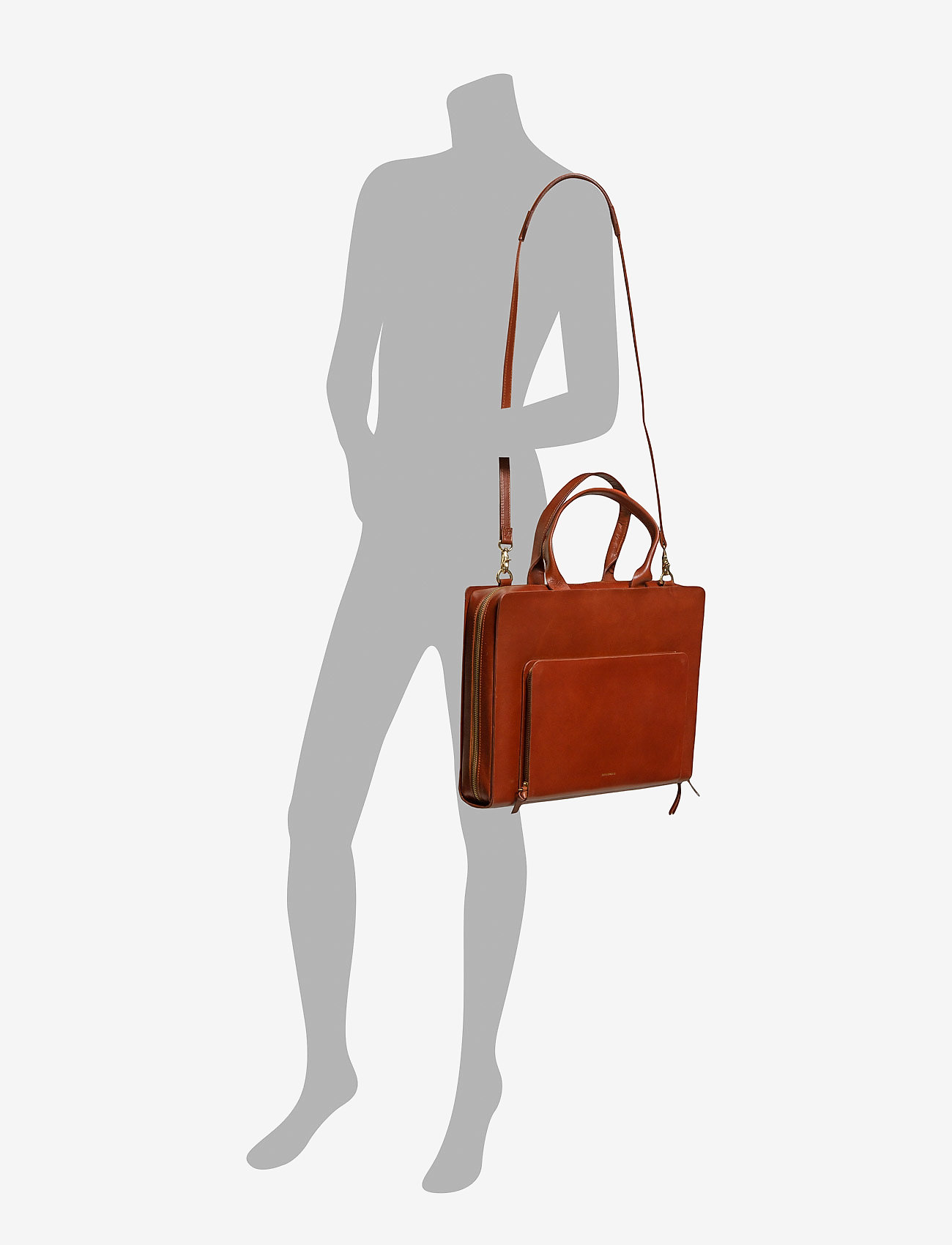 Royal RepubliQ - Galax Day bag - laptop-väskor - cognac - 1