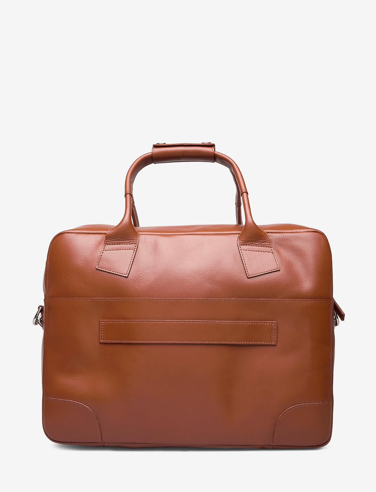 Royal RepubliQ - Nano Day Bag - briefcases - cognac - 1