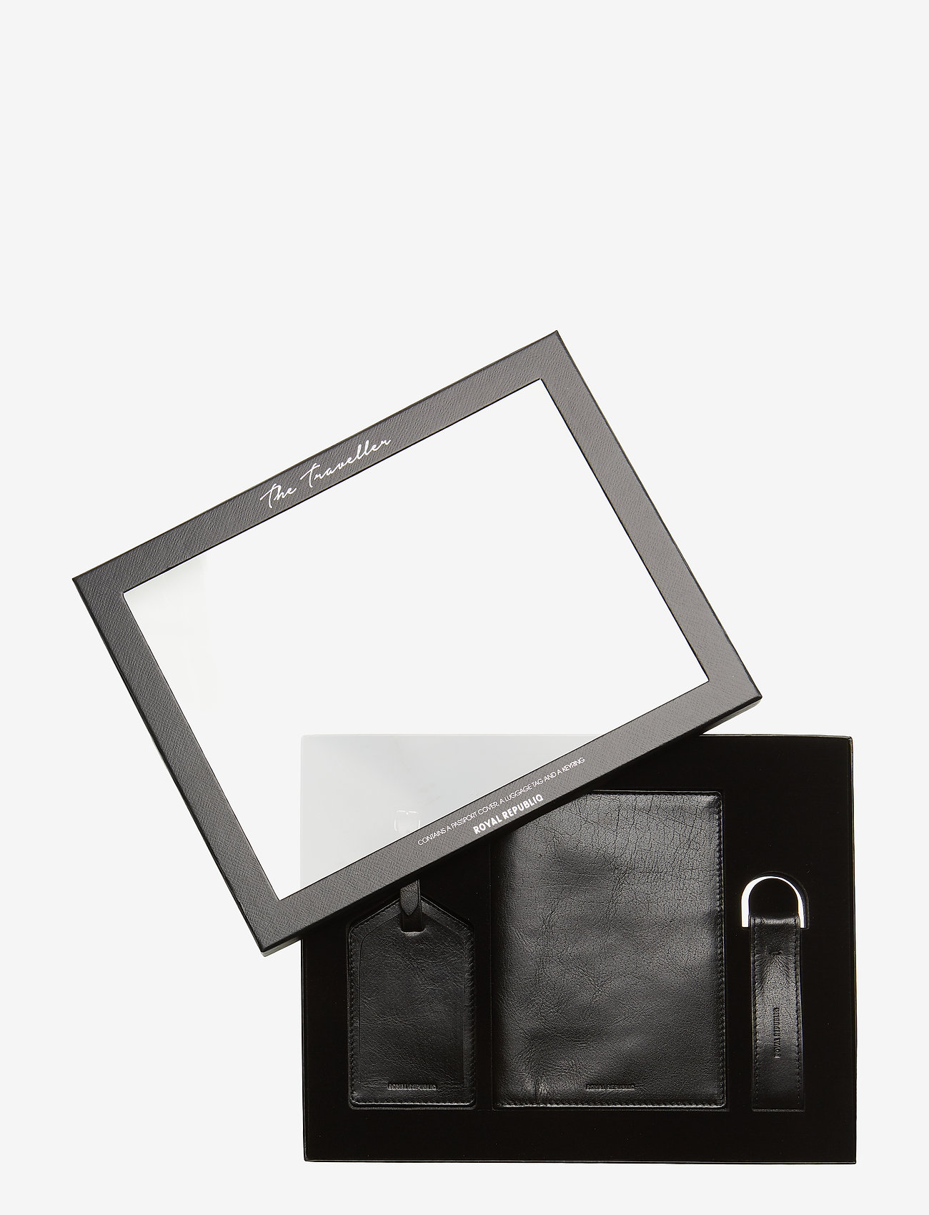 Royal RepubliQ - The Traveller Gift Box - travel accessories - black