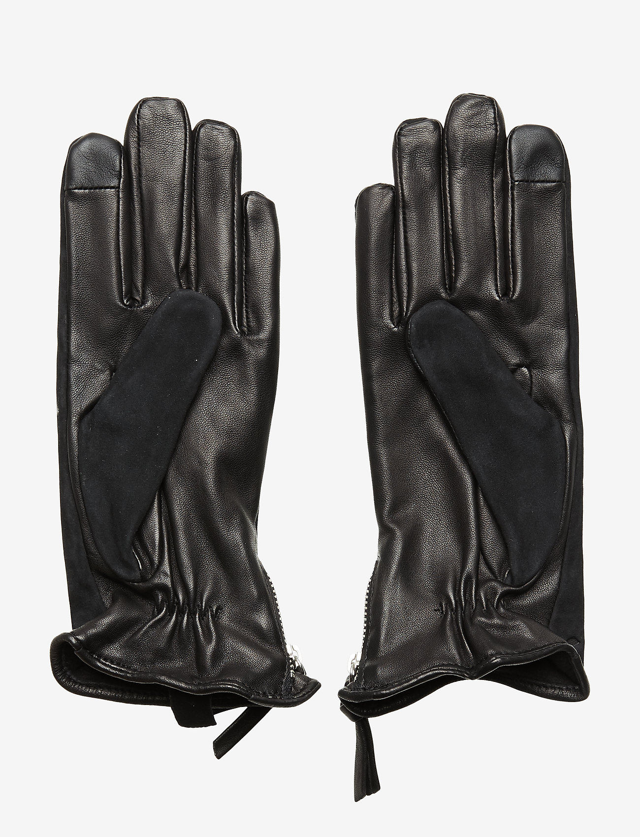 Royal RepubliQ - Ground Suede Touch Gloves - rękawiczki - black - 1